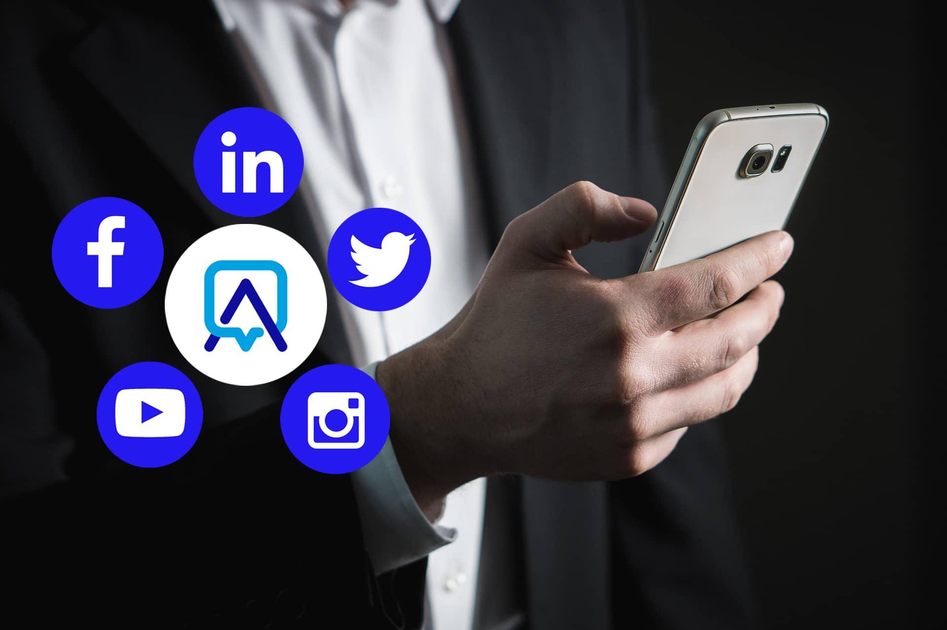 réseaux sociaux invivo