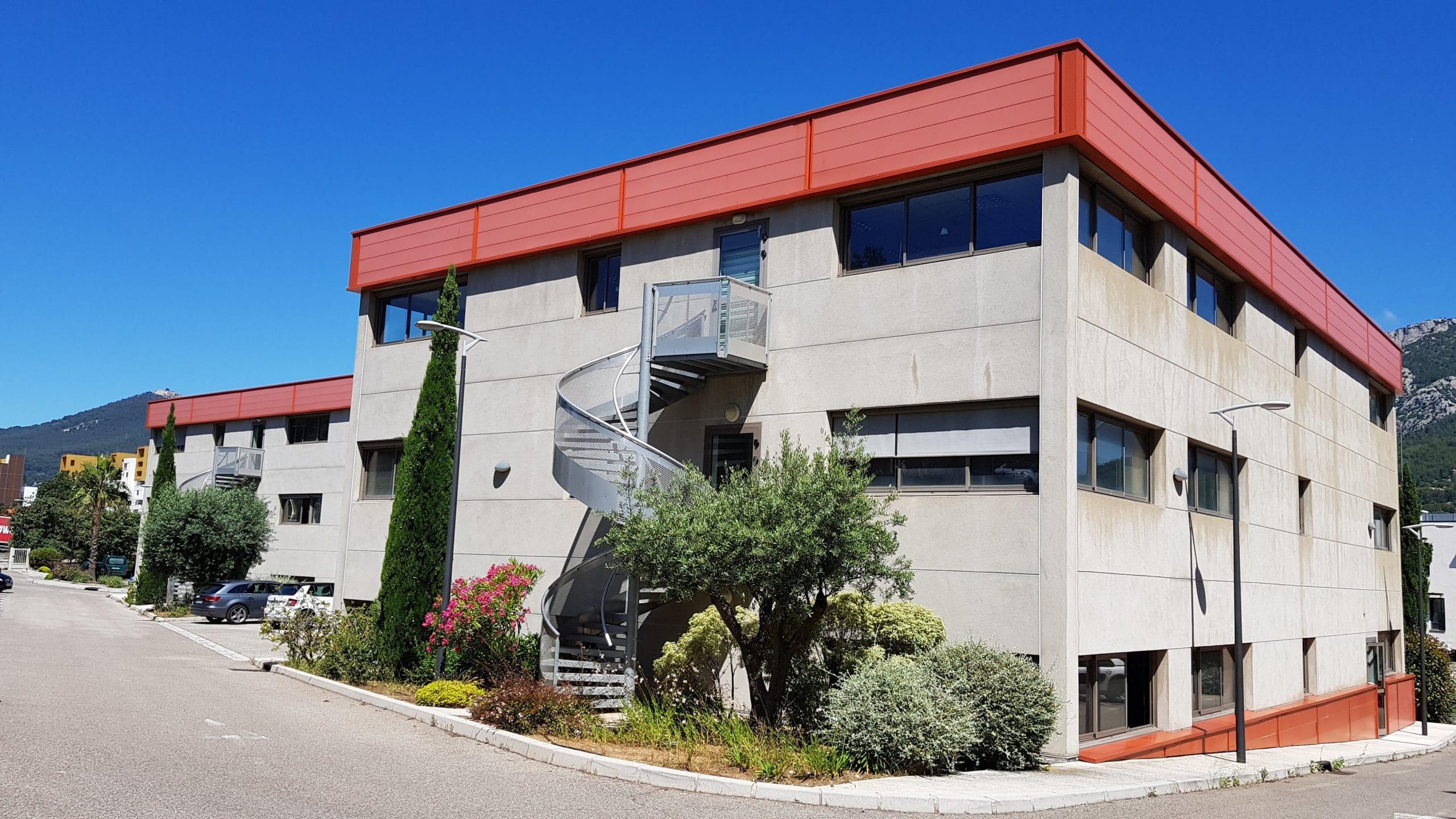Travaux d'aménagement Invivo Toulon bureau