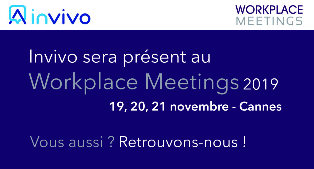 Invivo présent workplace meetings cannes 2019
